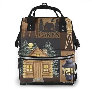Live Love Lodge Multi-Function Travel Backpack Nappy Bag,Fashion Mummy Bag