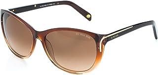يو.اس. بولو اسن . نظارة شمسية بتصميم عين الذبابة للنساء