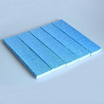 reyee plisado filtros 5 hojas de repuesto para purificador de aire Daikin mc70kmv2/mck57lmv2: Amazon.es: Hogar