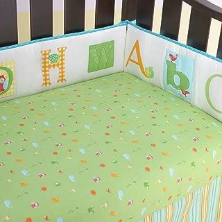 Laura Ashley Baby Owlphabet 4 Piece Bumper Set Color: Sage