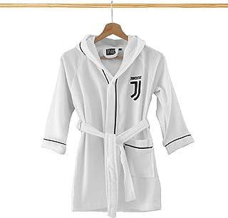 FC JUVENTUS Accappatoio MICROSPUGNA Bambino Nuovo Logo (12/14)