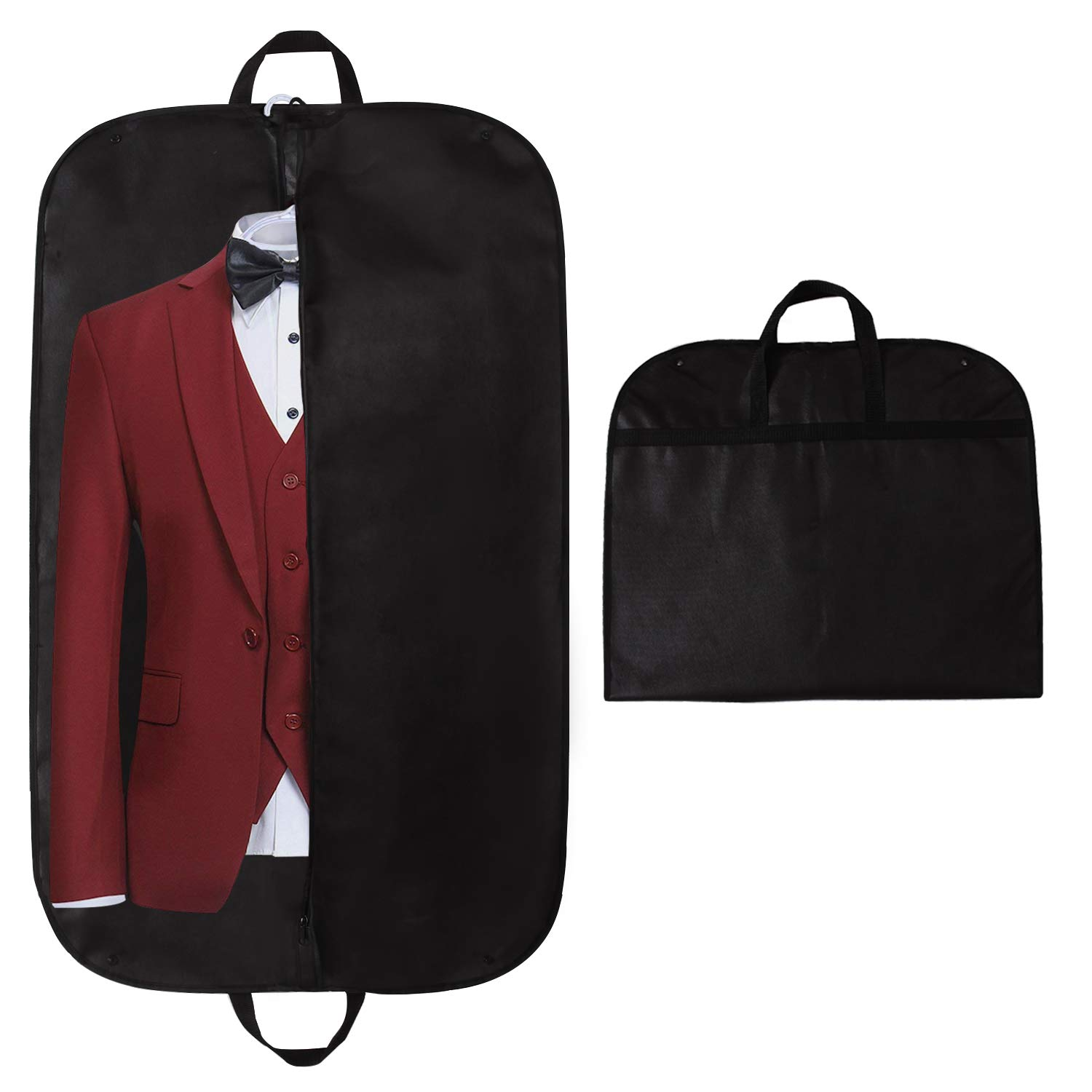 2 x Quality Suit Garment Carrier Breathable Clothes Protector Travel Storage Bag