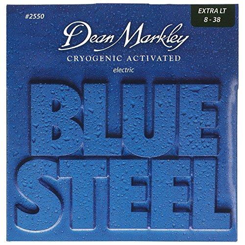 Dean Markley Blue Steel corde per chitarra elettrica 2550 XL 8-38
