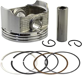 AHL Piston & Piston Rings Pin Clips Kit for Honda CRF230 2003-2014 / FTR230 2003-2005 (Oversize +25 65.75mm)