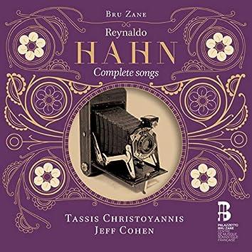 Hahn: Complete songs