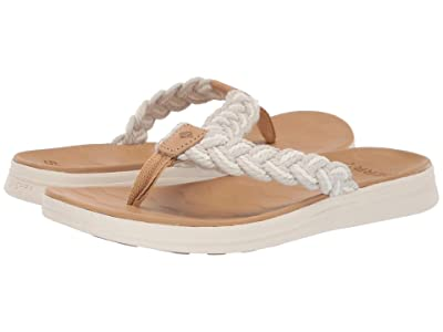 Sperry Adriatic Thong Braided (Linen/Natural) Women