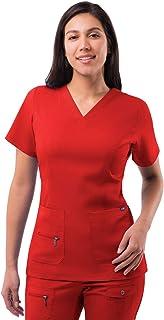 Adar Pro Scrubs For Women - Elevated V-Neck Scrub Top