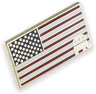 American Flag Republican Elephant Lapel Pin