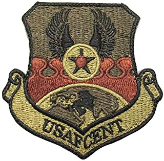 US Air Force Central Command USAFCENT OCP Spice Brown Patch with Hook Fastener