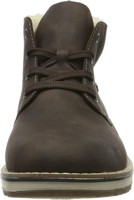 Rieker Homme Bottes, Boots 39231, Monsieur Bottes d'hiver,riekerTEX Marron Moro Navy 25