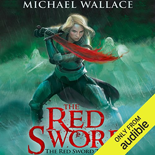 The Red Sword audiobook cover art