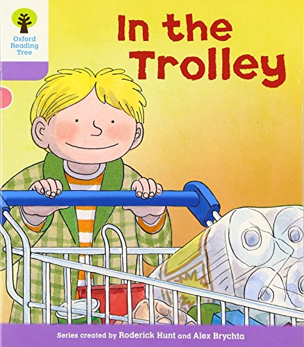 Oxford Reading Tree: Level 1+: Decode and Develop: In the Trolleyの詳細を見る