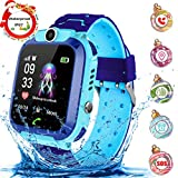 Kinder Smartwatch Waterproof Digital Watch with Games, SOS and 1.44 inch Touch LCD for Boys Girls...