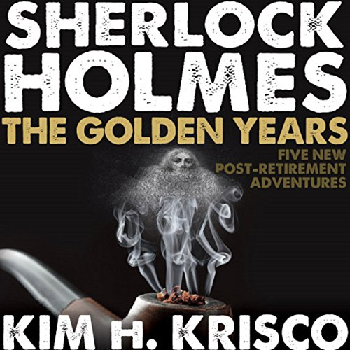 Sherlock Holmes the Golden Years audiobook cover art