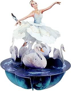 Santoro Pirouettes Swan Lake Ballet 3D Pop Up Card (PS064)