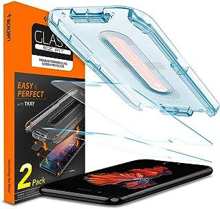 Spigen Tempered Glass Screen Protector [Glas.tR EZ Fit] Designed for iPhone 8 (2 Pack)
