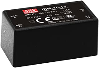 MEAN WELL [PowerNex] IRM-10-12 12V 0.85A Miniature Encapsulated Type Green Open Frame Power Supplies