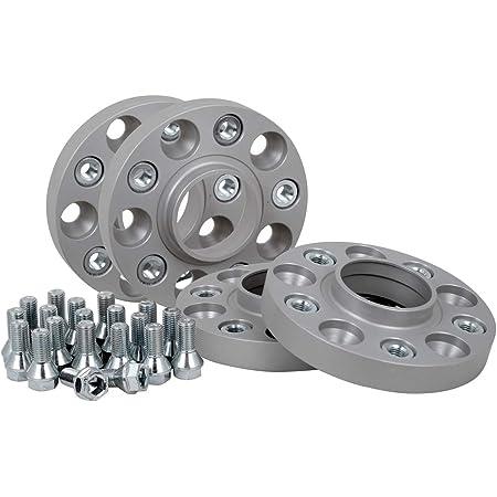Spurverbreiterung Aluminium 4 Stück 20 Mm Pro Scheibe 40 Mm Pro Achse Inkl TÜv Teilegutachten Abe Auto