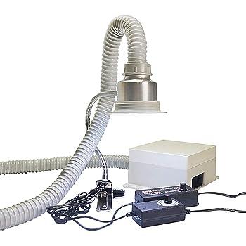 BAOSHISHAN Extractor de Soldadura para Escritorio Absorbente de Humo Extractor Movible de Humos Filtro de Aire Ajuste Inteligente de 3 marchas con Lámpara de Recordatorio (tubo de fumar): Amazon.es: Bricolaje y herramientas