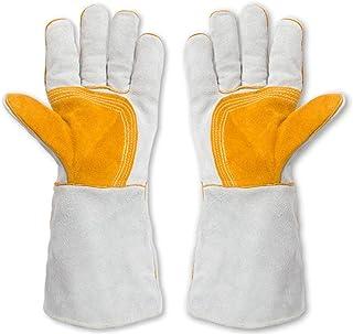 厚めの長さの保護手袋は耐性のある絶縁炎の難燃剤を着用する