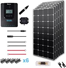 Renogy 600W Eclipse Monocrystalline Solar Premium Kit with 40A Charger Controller