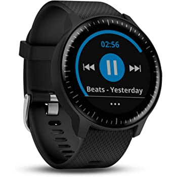 Garmin vívoactive 3 Music GPS-Fitness-Smartwatch – Musikplayer, Garmin Pay, vorinstallierte Sport-Apps
