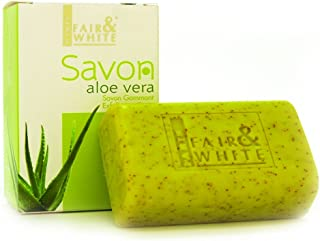 Fair & White Original Aloe Vera Exfoliating Soap, 200g / 7oz