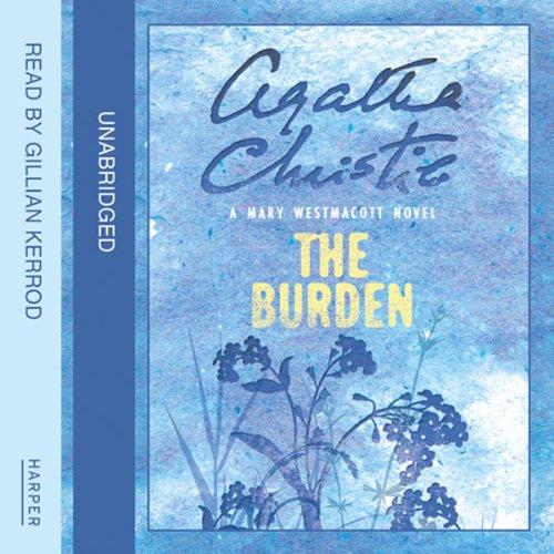The Burden audiobook cover art