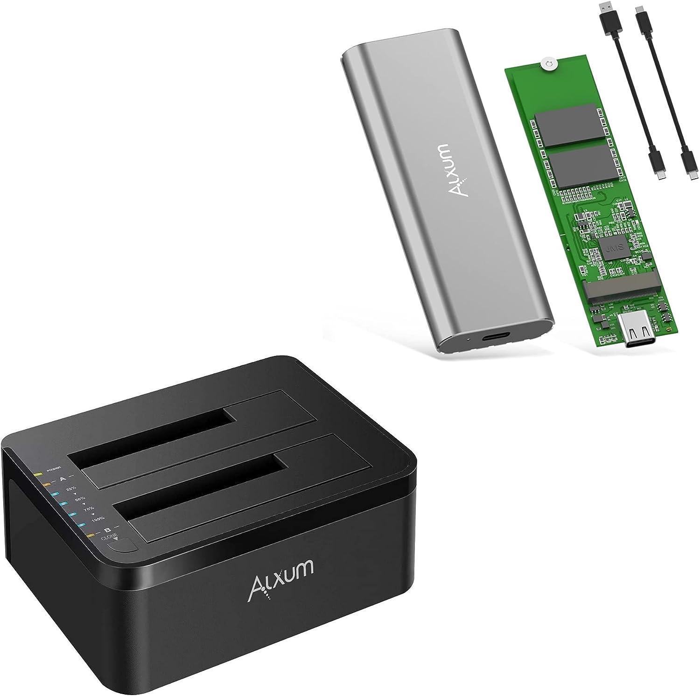 Bundle Alxum 25% OFF SATA Hard Disk Drive Docking C Station Fort Worth Mall with Offline