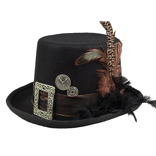 Steampunk Hats  Amazon.co.uk a81a4bcf87da