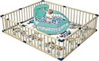 Baby Game Playpen That Are Easy to Install and Remove, Help Babies Learn to Walk and Protect Their Safety When They Play Games,Kids Activity Centre