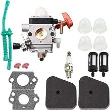 C1Q-S174 Carburetor FS90 for Stihl HT101 FS87 FS90 FS90R FS110R FS110 FS100 HT100 HL100 HL90 KM100 KM100R KM110R KM110 KM90 KM90R Carb String Trimmer Air Filter Fuel Line Primer Bulb Tune Up Kit