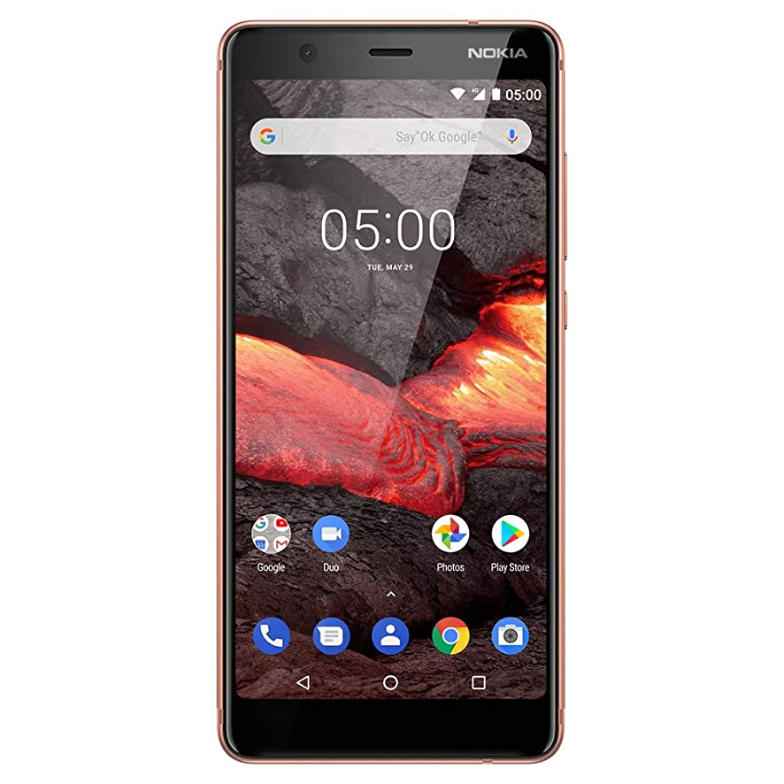 Nokia 5.1 - Android 9.0 Pie - 16 GB - Dual SIM Unlocked Smartphone (at&T/T-Mobile/MetroPCS/Cricket/H2O) - 5.5