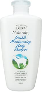 Leivy Naturally Doble Moistursing Body Shampoo 500ml - Goat's Milk & Milk Protein (Harajuku Culture Pack)