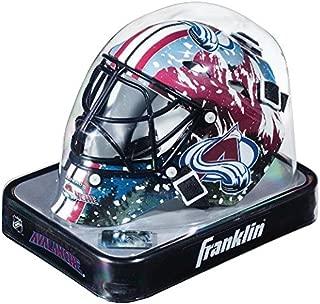 New Colorado Avalanche Franklin Sports Mini Hockey Goalie Mask - NHL