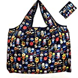 エコバッグ 折りたたみ買い物袋 コンビニバッグ 撥水生地ポッケト 大容量 軽量 防水 アンパンマン