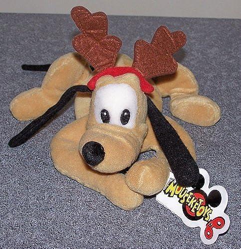 ventas en linea Disney's X-mas Mini Bean Bag Pluto 9 9 9 by Mouseketoys  saludable