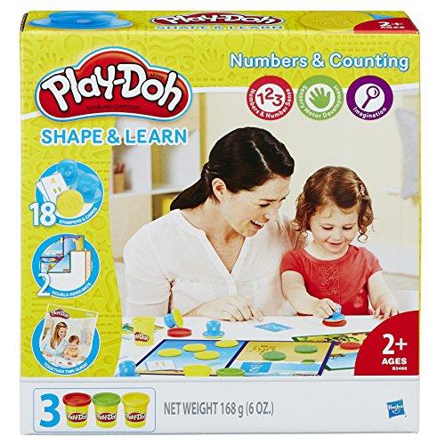 Conjunto Massinha Play-Doh Aprendendo os Números Hasbro
