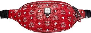 MCM PROJECT (RED) Belt Bag, Viva Red/White Logo