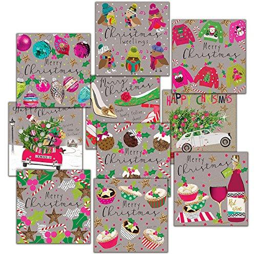 Hammond Gower Pubblicazioni AXP004cartolina di Natale (confezione da 10)