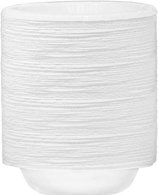 Utensilux Ultra Strength Paper Disposable Bowls 20 Oz 128 Bowls