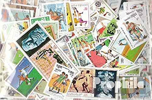 Motives 500 différents Football timbres (Timbres pour les collectionneurs) football