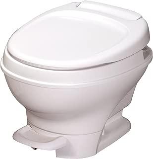 Aqua-Magic V RV Toilet Pedal Flush / Low Profile / White - Thetford 31650