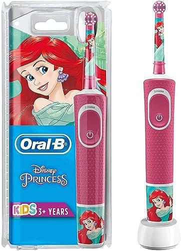 Oral-B Kids Brosse à Dents Électrique par Braun, Princesses, Modèle assorti