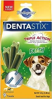 PEDIGREE Dentastix Dental Treats for Dogs Variety of Flavors - Small/Medium (15-40 lb)