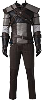 Men's Suit for The Witcher 3 Wild Hunt Geralt of Rivia Cosplay