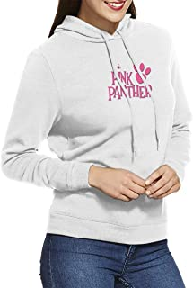 JacobCloe Women's Pink Panther Logo Nice Pocketless Sweater for Autumn