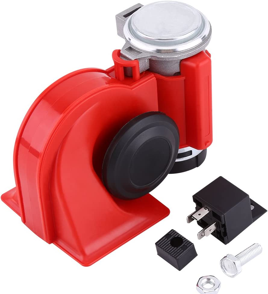 12V Virginia Beach Mall Dual Tone Trumpet Super Loud Air Horn Oakland Mall Electric Electri Snail