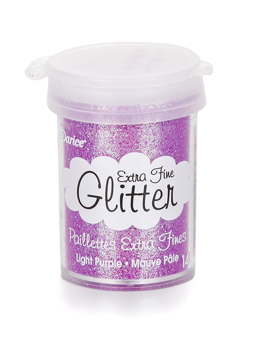 Darice Extra Fine Glitter - Light Purple - 15 Grams
