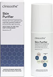 Clinisoothe+ Skin Purifier Spray 100ml - with hypochlorous technology to protect the skin from pollutants and impurities, ...